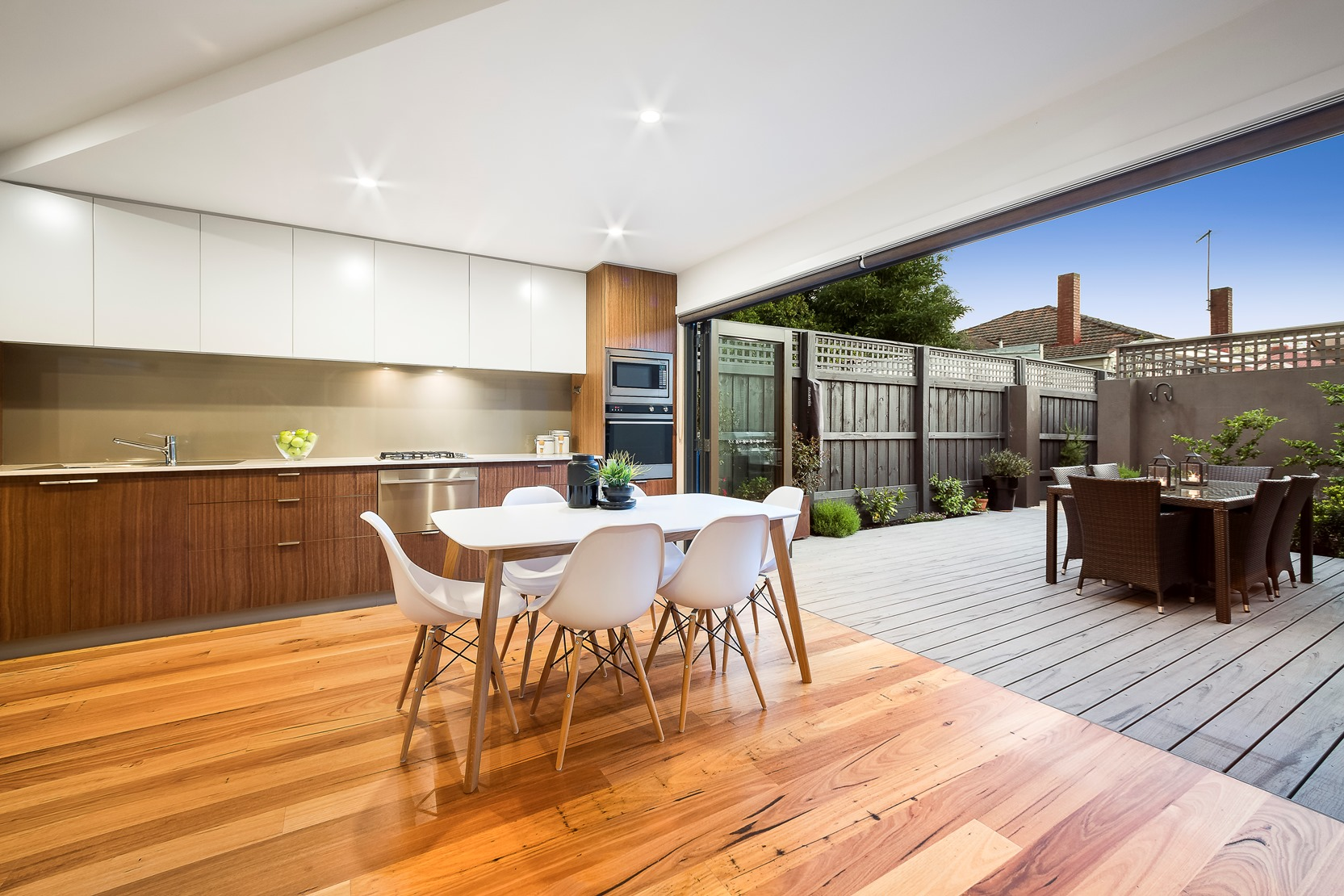 Kew House Design Kitchen Dining Indoor and Outdoor