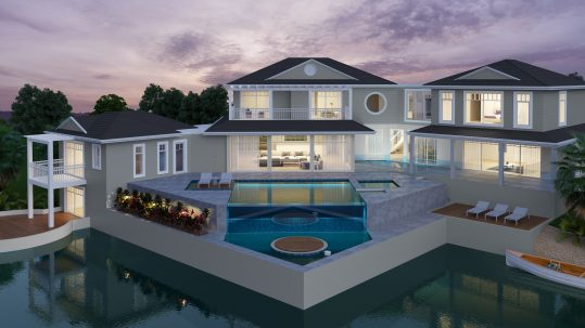 Custom House Design Hampton House Pool 2 Story