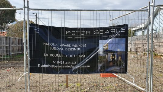68 Perry Street Fairfiield Peter Searle Signage